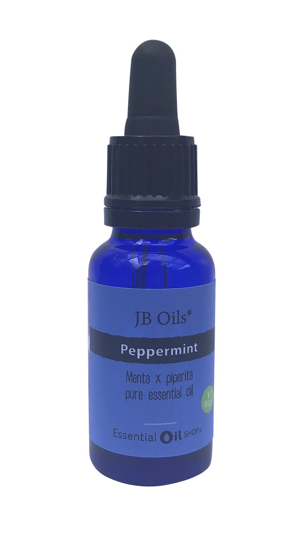 JB Oils® - Pepermunt olie - Peppermint - Menta x piperita - 20 ml