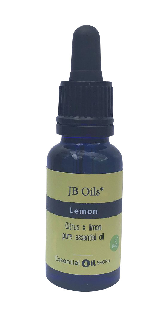 JB Oils® - Citroen olie - Lemon - Citrus x limon - 20 ml